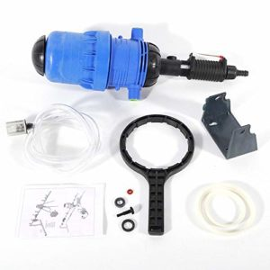 OUKANING Engrais Injecteur Distributeur Proportioner 0,4-4% Chimique Injecteur Water-Driven pour bétail, Agriculture, Engrais