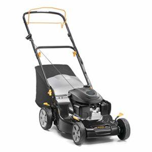 Alpina 295492034/A19BL 460SH Tondeuse à essence 145cc, largeur de coupe 46cm, Sac de collecte 55L