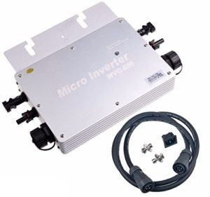 Y&H 600W MPPT Inverseur de lien de grille étanche DC22-50V à AC230V pour système de panneau solaire domestique pour panneau solaire 36V WGTI-600W-230V