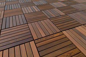 396 Carrelage | Thermo Frêne | Terrasse| Fiche Système | Naturel Bois | 33x33cm