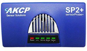 AKCP Capteur Probe2+ Thermomètre IP et hygromètre – Surveillance de la température et de l'humidité de l'air