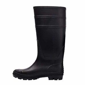 Bottes de Pluie pour Homme, LuckyGirls Chaussure de Jardinage Waterproof Unisexe Imperméables Boots Chaussures de Sports Aquatiques Homme 38-47