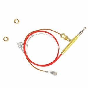 Chauffage extérieur pièces de remplacement M8x 1extrémité Connexion Écrous thermocouple 0.4metres de long Filetage M6x 0,75Tête avec
