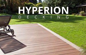 Composite pour terrasse kit–25m²–6coloris disponibles |hyperion terrasse britannique