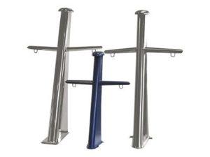 GEBOO Roestvrijstaal RVS mast 120 cm