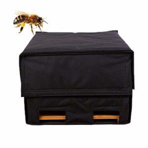 wapern Couverture De Ruche, Housse De Protection pour Abeilles d'hiver Couverture Chaude Anti-Pluie, Outil D'apiculture pour Hiver 56x45x35cm