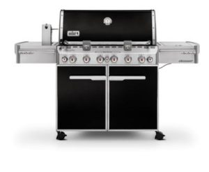 Weber Summit E-670 Barbecue à gaz Noir
