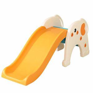 Zjcpow-TO Baby Toboggan Tout-Petit à l'intérieur Jouer Diaporama Pliable familiale Aire de Jeu Facile à Installer, for Les garçons et Les Filles, Recommandé for Les Enfants de 1-10 143.5x50x59.5cm