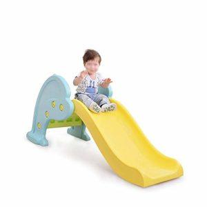 Zjcpow-TO Baby Toboggan Tout-Petit à l'intérieur Jouer Diaporama Pliable familiale Aire de Jeu Facile à Installer, for Les garçons et Les Filles, Recommandé for Les Enfants de 1-10 153x58x66.5cm