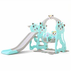Zjcpow-TO Baby Toboggan Trois-en-Un Enfant en Bas âge Diapo intérieur Jouez Aire de Jeux Diapositive Famille, for Les garçons et Les Filles, Recommandé for Les Enfants de 1-10