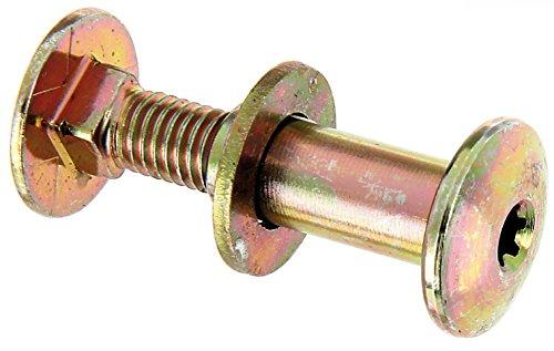 GAH-Alberts Multi-Fix-vis tête plate avec écrou Douille (Lot de 2), Jaune, 338312