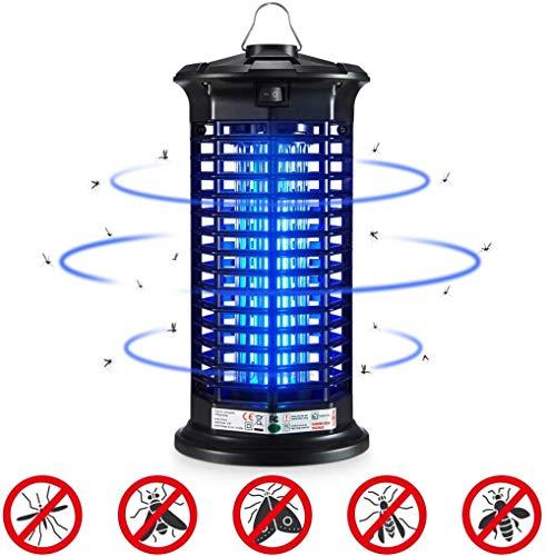 ZYF électrique Moustique Tueur LED piège Mouche Zapper Insecte Insecte Tueur Lampe,Moustique extérieur intérieur Insecte Attrape Tueur 4W